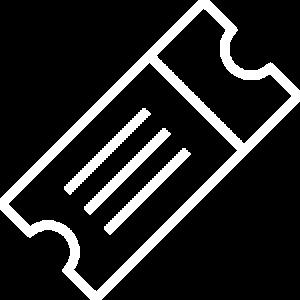 Roadshow Event Icon Outline White