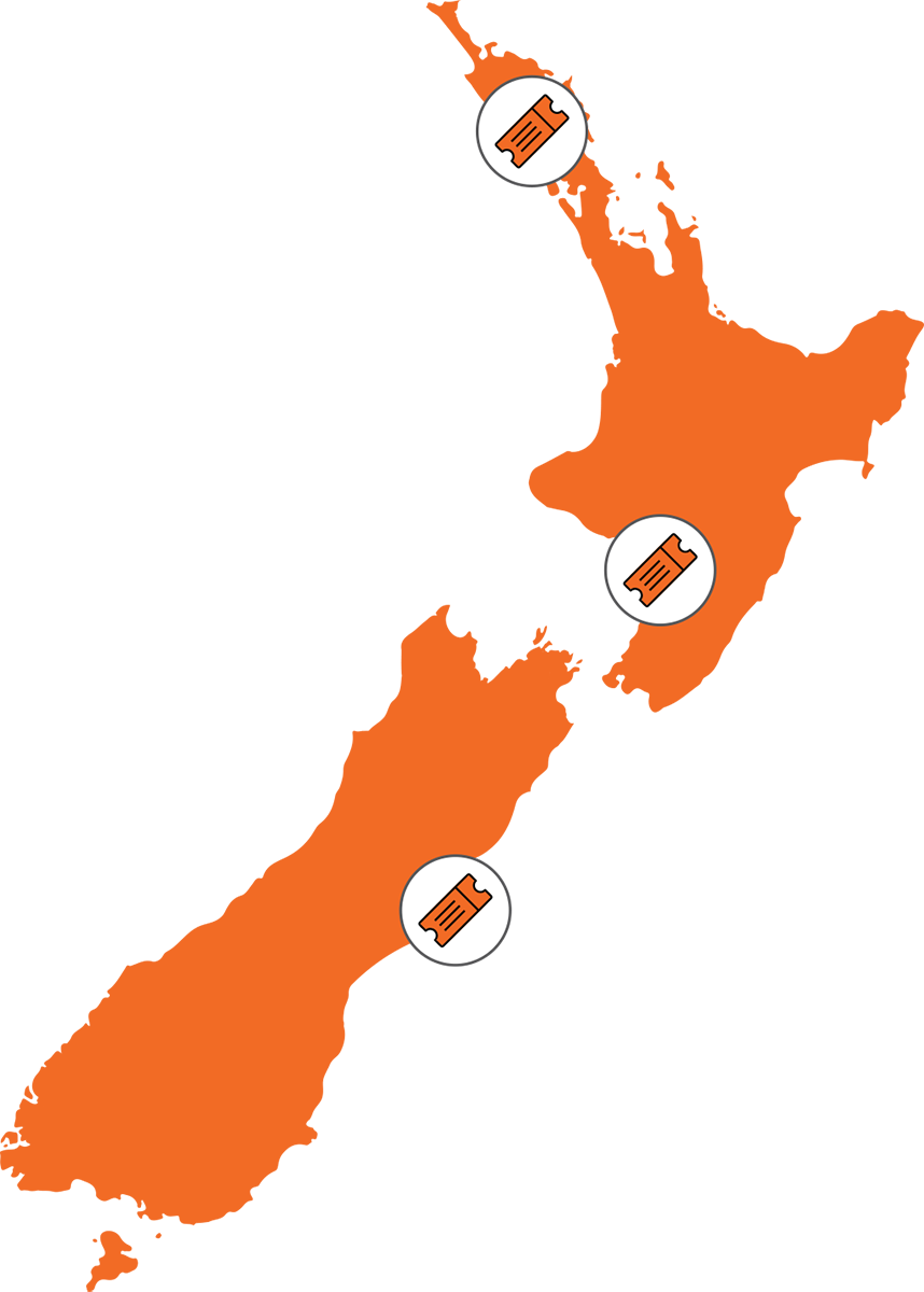 Roadshow Map Events